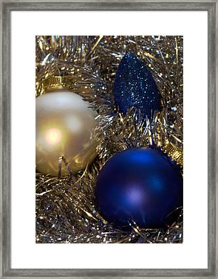 Happy Holidays Card 02 Framed Print by Karen Musick