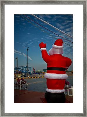 Happy Holidays From Phnom Penh Framed Print