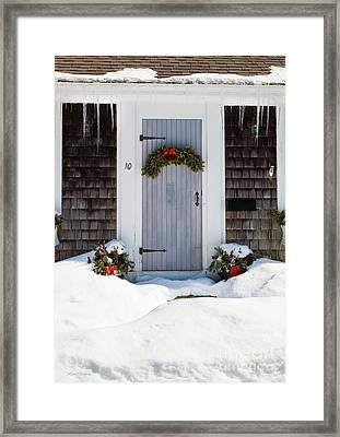 Framed Print featuring the photograph Happy Holidays by Michelle Wiarda