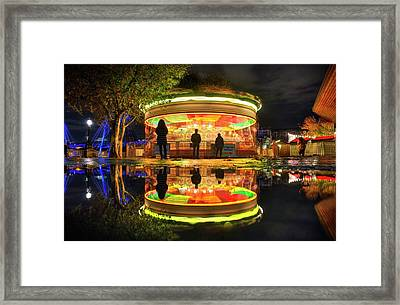 Framed Print featuring the photograph Happy Holidays by Quality HDR Photography