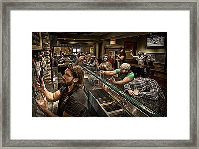 Happy Hour Framed Print by Anthony Benussi