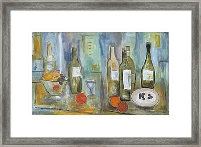 Happy Hour II Framed Print by Trish Toro