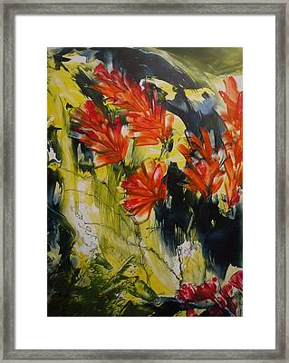 Happy In June  Framed Print by Heather Hennick