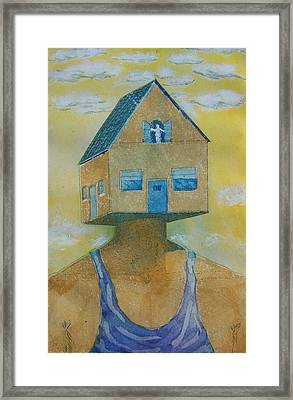 'happy Is The House' Framed Print