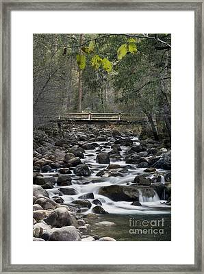 Happy Isle Yosemite Framed Print