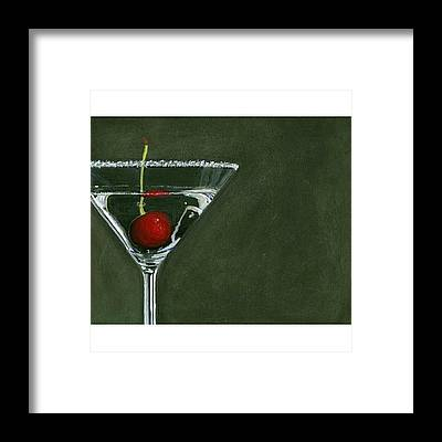 Martini Framed Prints