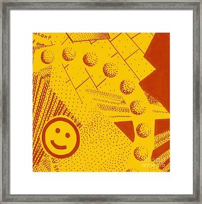 Happy Framed Print