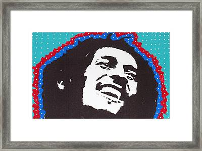 Happy Marley Framed Print by Robert Margetts