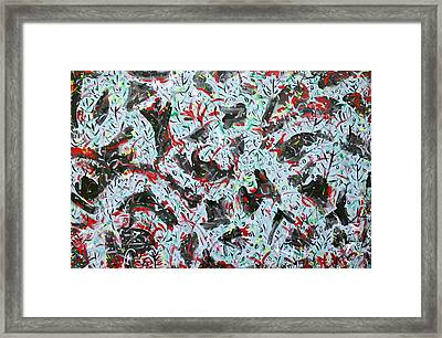 Happy Mix 1 Framed Print by Biagio Civale
