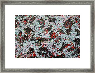 Happy Mix 2 Framed Print by Biagio Civale