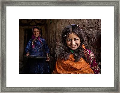 Happy Morning Framed Print by Mohammadreza Momeni