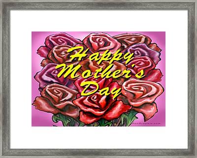 Happy Motherer's Day Framed Print by Kevin Middleton