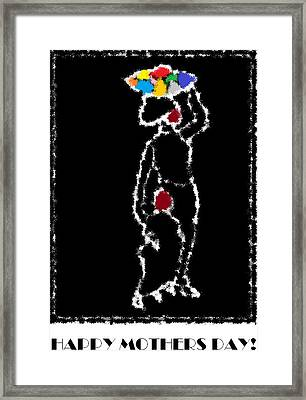 Happy Mother's Day 10 Framed Print