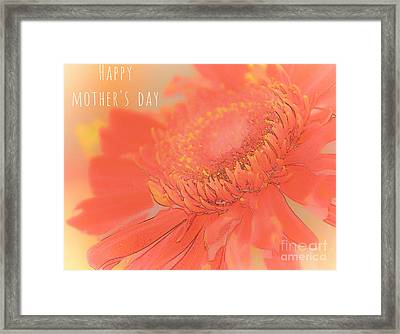 Happy Mother's Day #3 Framed Print