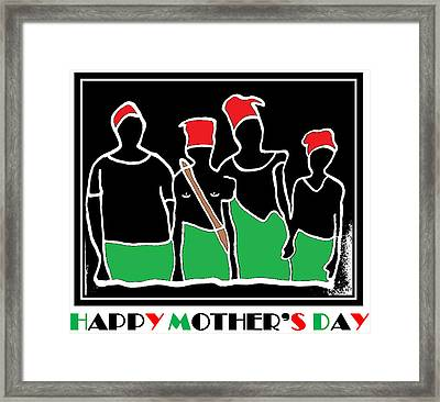 Happy Mother's Day 3 Framed Print