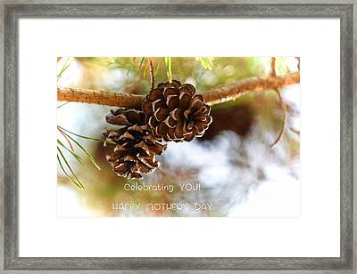 Happy Mother's Day #4 Framed Print