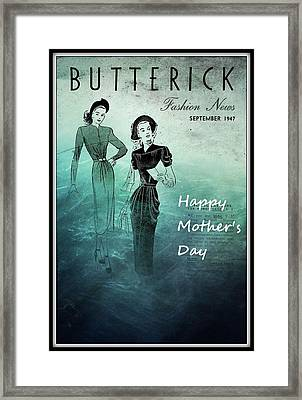 Happy Mother's Day Framed Print by Patrice Zinck