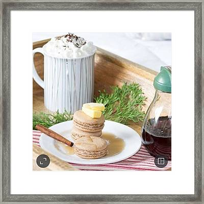 Happy National Cookie Day! My Go To Framed Print