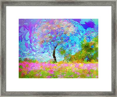 Happy Nature Framed Print