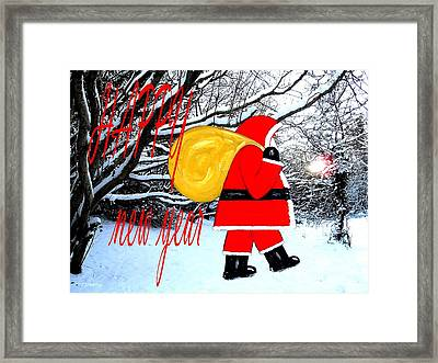 Happy New Year 18 Framed Print by Patrick J Murphy