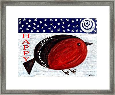 Happy New Year 3 Framed Print by Patrick J Murphy