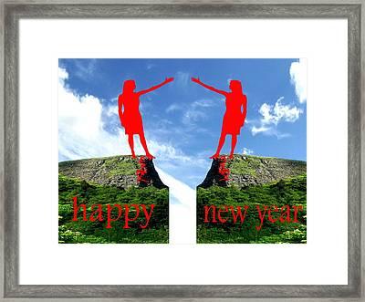 Happy New Year 36 Framed Print