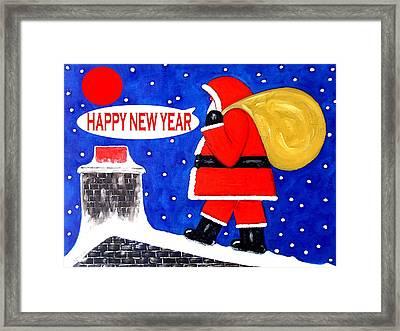 Happy New Year 48 Framed Print by Patrick J Murphy