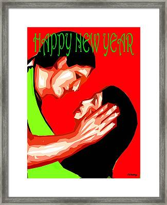 Happy New Year 49 Framed Print by Patrick J Murphy