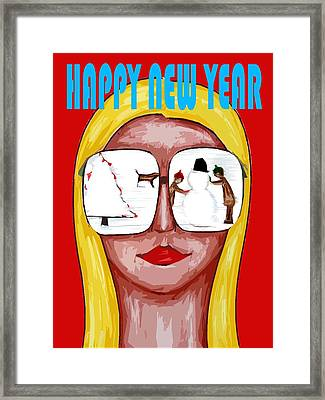 Happy New Year 51 Framed Print by Patrick J Murphy