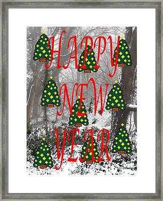Happy New Year 60 Framed Print by Patrick J Murphy