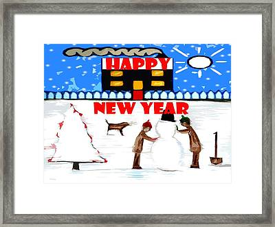 Happy New Year 64 Framed Print by Patrick J Murphy