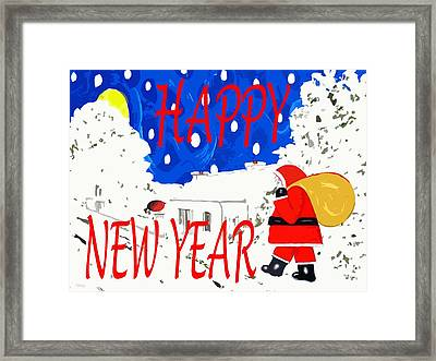 Happy New Year 82 Framed Print by Patrick J Murphy