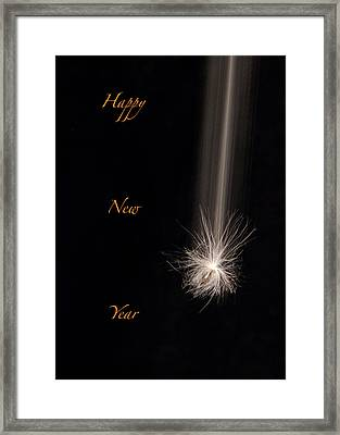 Happy New Year Framed Print by Don Spenner