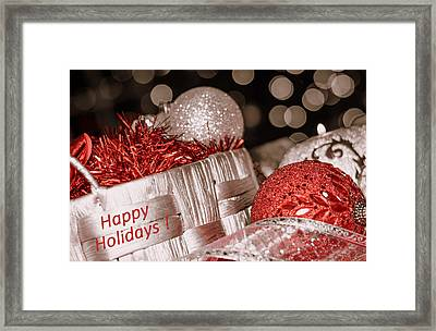 Happy New Year#3 Framed Print by Irena Kazatsker