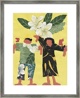 Happy People Framed Print by Katie OBrien - Printscapes