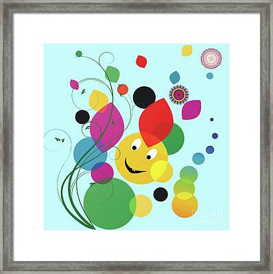 Happy Spring Image Framed Print by Heinz G Mielke