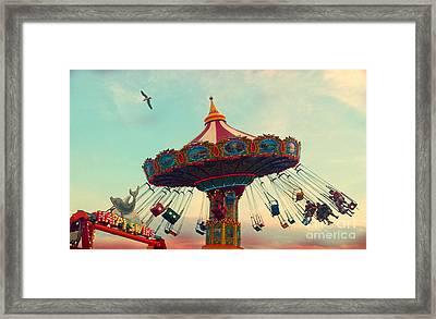 Happy Swing Framed Print