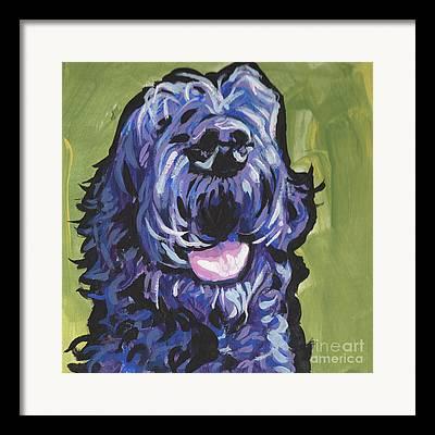 Mixed Labrador Retriever Paintings Framed Prints