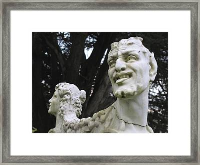 Framed Print featuring the photograph Happy Together by John King