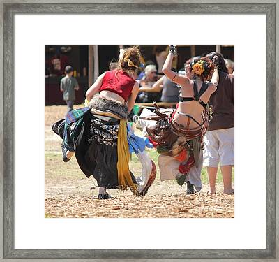 Happy Wenches Framed Print