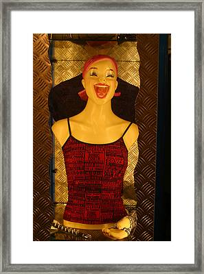 Happy World Framed Print by Jez C Self