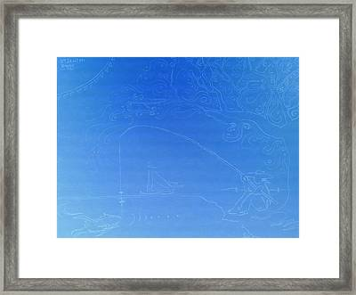 Happy's 2001 Feeling Fishy Framed Print by Happy Byrd