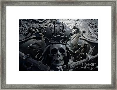 Hapsburg Tombs Vienna Austria Framed Print by Thomas Marchessault