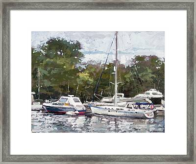Hapuna Maru Framed Print by Larry Seiler