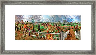 Harbe's Family Farm Framed Print