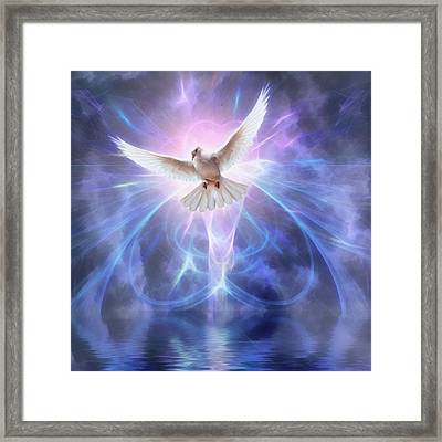 Harbinger II #fantasy #fantasyart Framed Print by John Edwards
