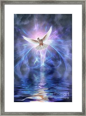 Harbinger Framed Print by John Edwards