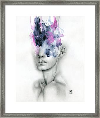 Harbinger Framed Print by Patricia Ariel