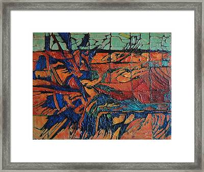 Harbingers Framed Print by Bernard Goodman