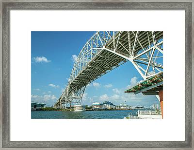 Harbor Bridge Framed Print